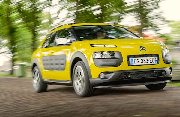 Citroen C4 Cactus France 2015. Picture courtesy carmagazine.co.uk