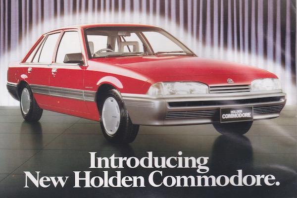 Holden Commodore New Zealand 1987