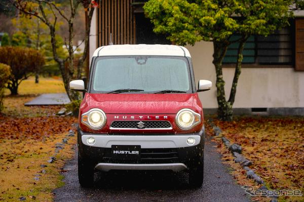 Suzuki Hustler Japan April 2015. Picture courtesy response.jp