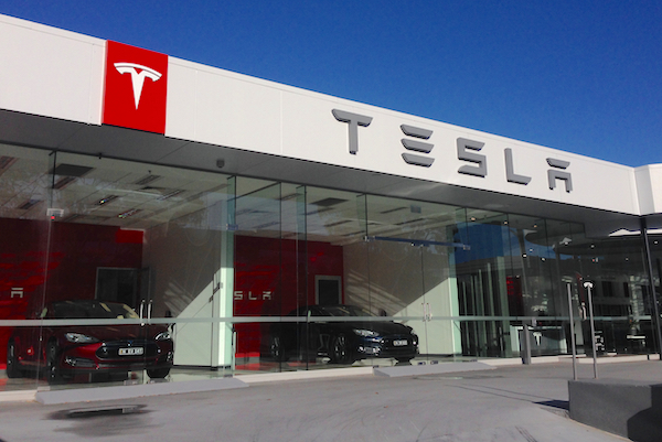Tesla Sydney dealership