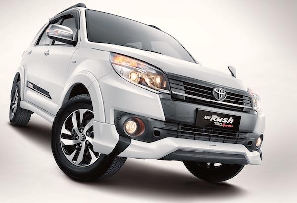 Toyota Rush Indonesia April 2015