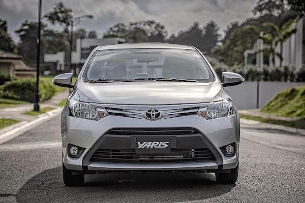 Toyota Yaris Peru 2014. Picture courtesy nilemotors.net