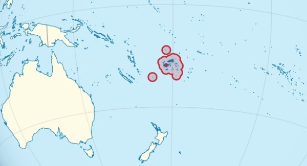 Fiji location
