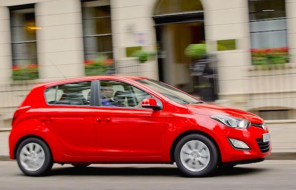 Hyundai i20 Australia May 2015