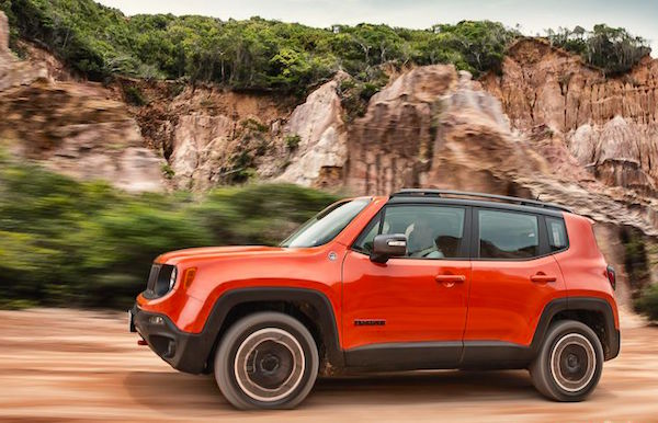 Jeep Renegade Brazil May 2015