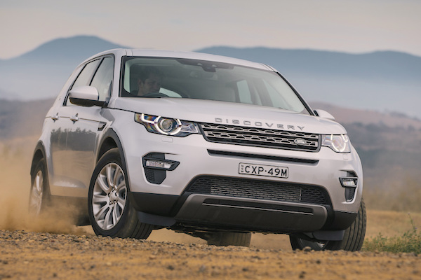 Land Rover Discovery Sport UK November 2015