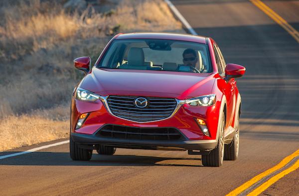 Mazda CX-3 Canada May 2015. Picture courtesy motortrend.com