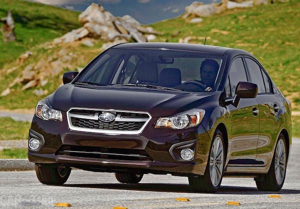Subaru Impreza Israel May 2015