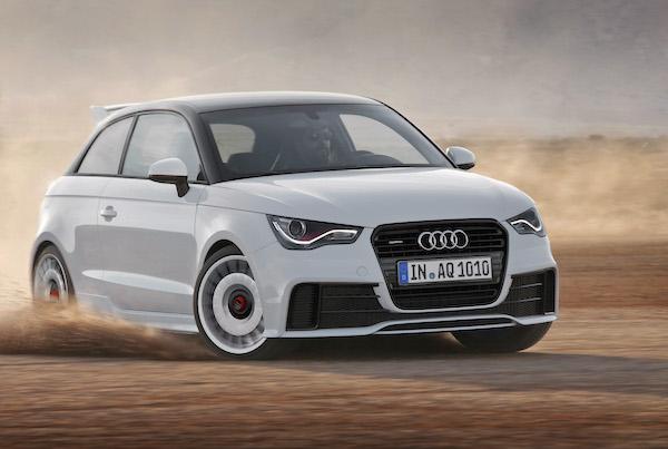 Audi A1 South Korea July 2015