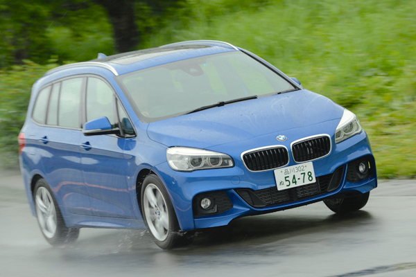 BMW 2 Series Active Tourer Japan June 2015. Picture courtesy autoc-one.jp