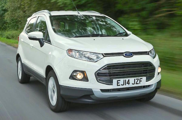 Ford Ecosport Wales February 2016. Picture courtesy autocar.co.uk