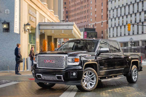 GMC Sierra Canada January 2016. Picture courtesy motortrend.com