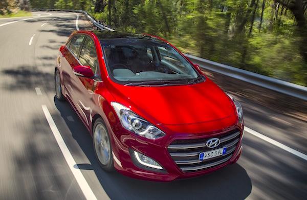 Hyundai i30 Australia June 2015. Picture courtesy caradvice.com.au