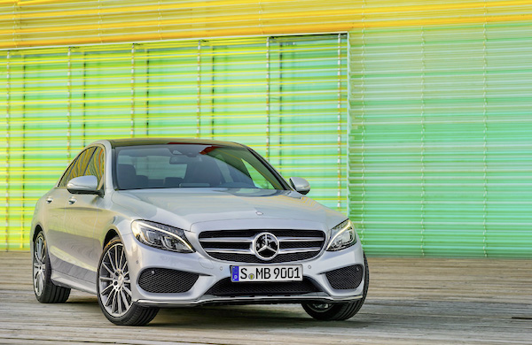 Mercedes C Class Turkey June 2015