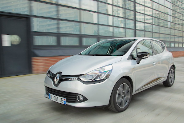 Renault Clio Bulgaria April 2016. Picture courtesy largus.fr