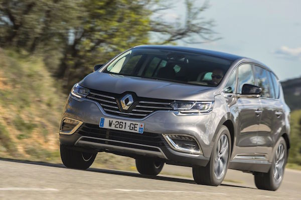 Renault Espace France 2015. Picture courtesy largus.fr