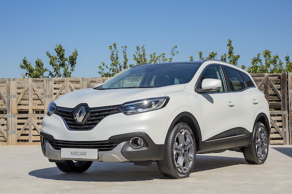 Renault Kadjar France November 2015. Picture courtesy largus.fr