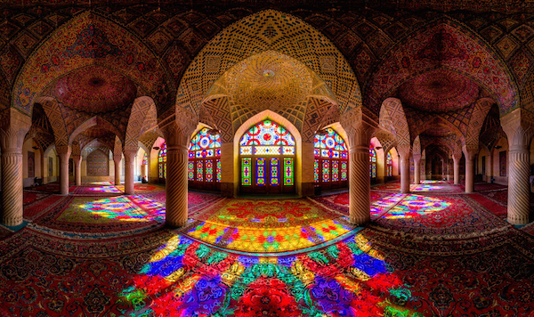 Shiraz Mosque Iran. Picture courtesy 500px.com