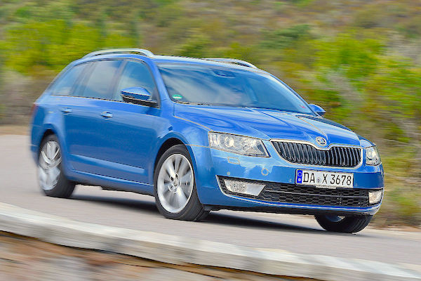 Skoda Octavia Germany 2015. Picture courtesy autobild.de