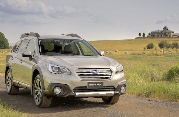 Subaru Outback Australia June 2015. Picture courtesy caradvice.com.au