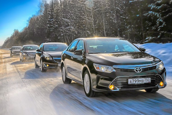 Toyota Camry Kazakhstan June 2016. Picture courtesy zr.ru