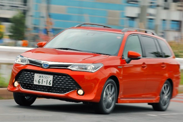 Toyota Corolla Japan June 2015. Picture courtesy autocar.jp