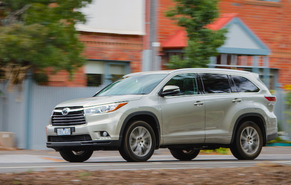 Toyota Kluger Australia June 2015. Picture courtesy caradvice.com.au