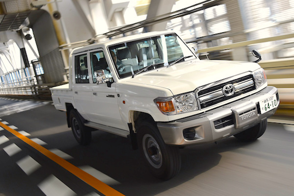 Toyota Land Cruiser 70 Japan June 2015. Picture courtesy gazoo.com