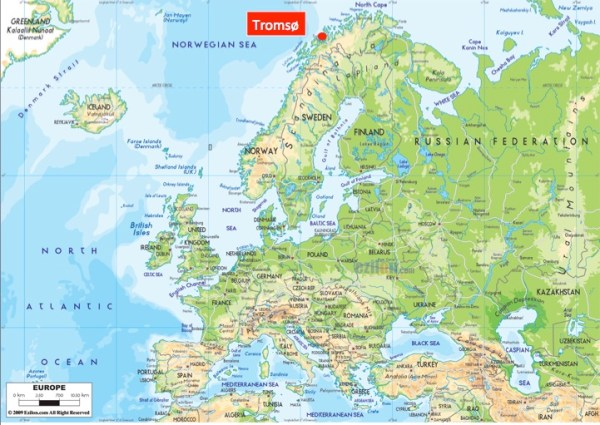 Tromsø location