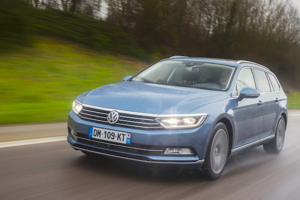 VW Passat Finland 2015. Picture courtesy largus.fr