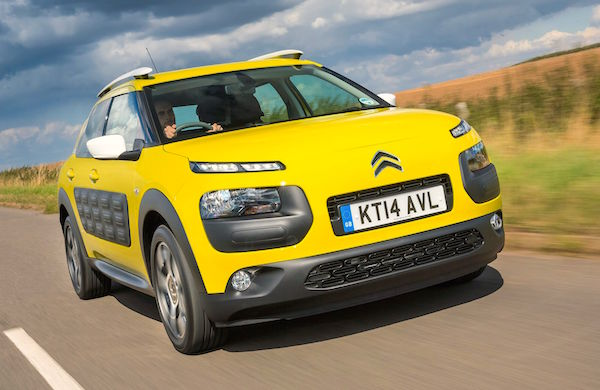 Citroen C4 Cactus Croatia April 2016. Picture courtesy dailyrecord.co.uk