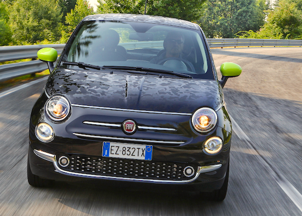 Fiat 500 Lithuania 2015