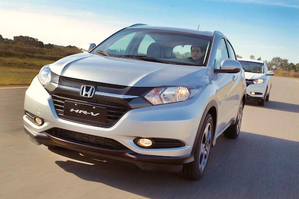Honda HR-V Singapore August 2015