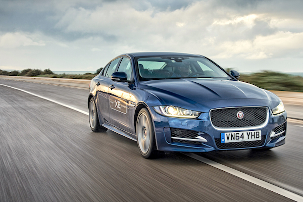 Jaguar XE Europe March 2016