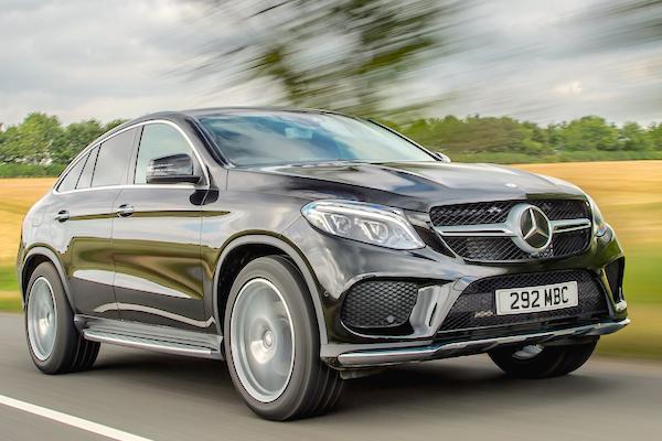 Mercedes GLE Romania October 2015