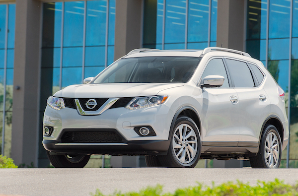 Nissan Rogue USA July 2015. Picture courtesy motortrend.com