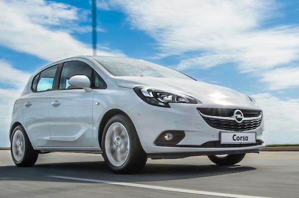 Opel Corsa Finland July 2015