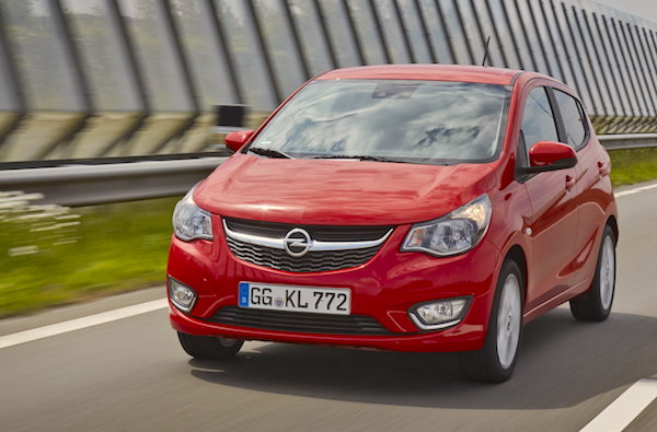 Opel Karl Italy June 2015. Picture courtesy alvolante.it