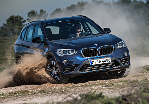 BMW X1 Switzerland February 2016