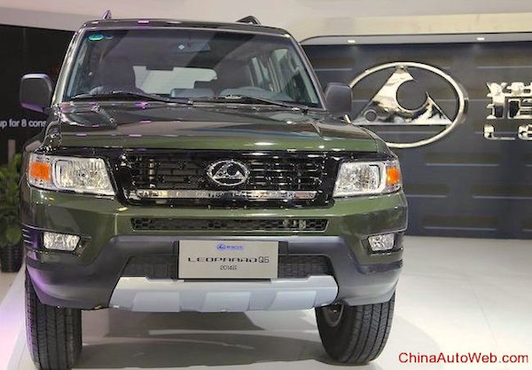Changfeng Leopaard Q6 China August 2015. Picture courtesy chinaautoweb.com