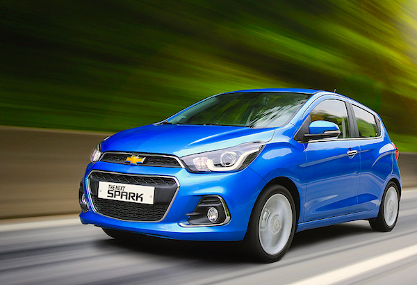 Chevrolet Spark South Korea August 2015. Picture courtesy carlab.co.kr