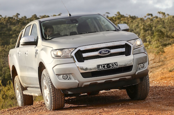 Ford Ranger New Zealand August 2015. Picture courtesy caradvice.com.au