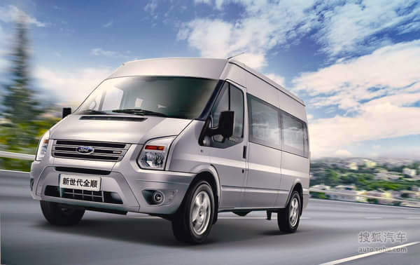 Ford Transit China August 2015. Picture courtesy auto.sohu.com