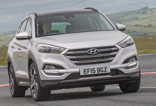 Hyundai Tucson Ireland October 2015