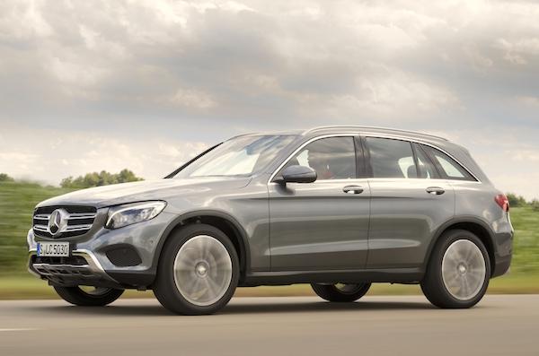 Mercedes GLC Germany September 2015