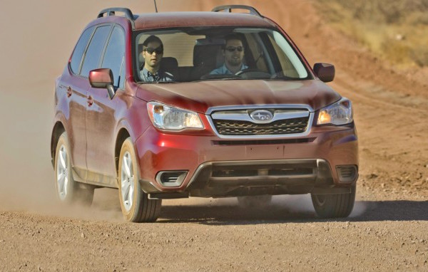 Subaru Forester USA August 2015. Picture courtesy caranddriver.com