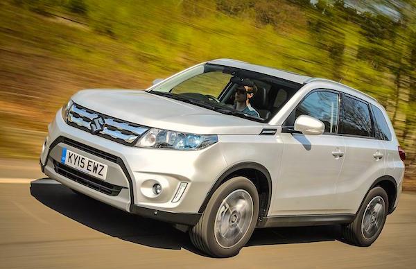 Suzuki Vitara Moldova August 2015. Picture courtesy whatcar.co.uk