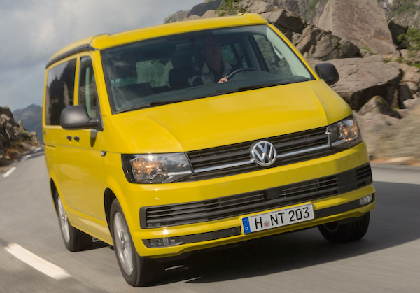 VW T6 Switzerland August 2015