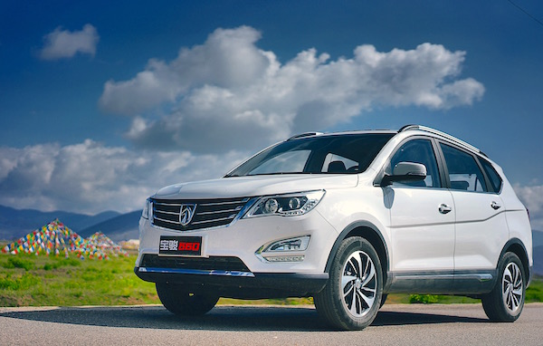 Baojun 560 China September 2015. Picture courtesy shwuling.com