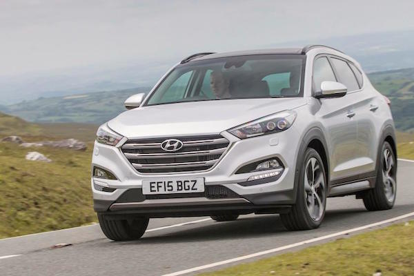 Hyundai Tucson Northern Ireland February 2016. Picture courtest autoexpress.co.uk